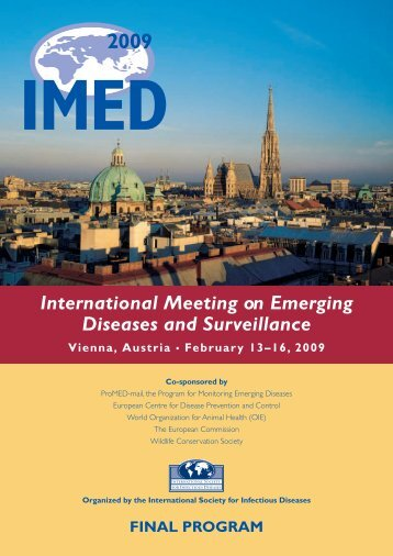 International Meeting on Emerging Diseases and ... - EpiSouth