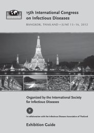 Exhibition Guide - International Society for Infectious Diseases