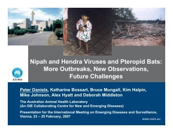 IMED2007_Daniels.pdf - International Society for Infectious Diseases