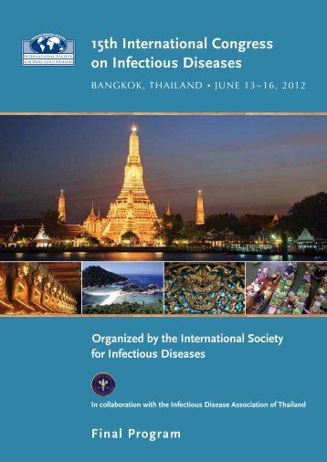 15th ICID Final Program - International Society for Infectious Diseases