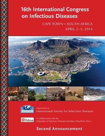 Second Announcement - International Society for Infectious Diseases