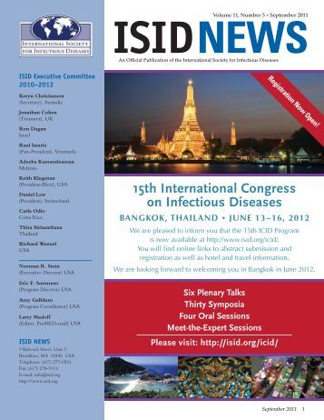 ISID News - International Society for Infectious Diseases