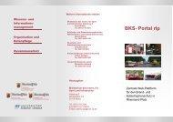 BKS- Portal rlp - beim Ministerium des Innern,für Sport und ...