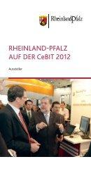 RHEINLAND PFALZ AUF DER CeBIT 2012 - beim Ministerium des ...