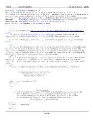 ORDIN nr. 5.553 din 7 octombrie 2011 pentru aprobarea ...