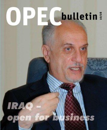 Oct 2008 - OPEC