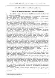 Atributiile membrilor comisiilor de bacalaureat - Anexa 3 la