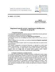 Regulament olimpiada de geografie 2012-2013.pdf - Inspectoratul ...