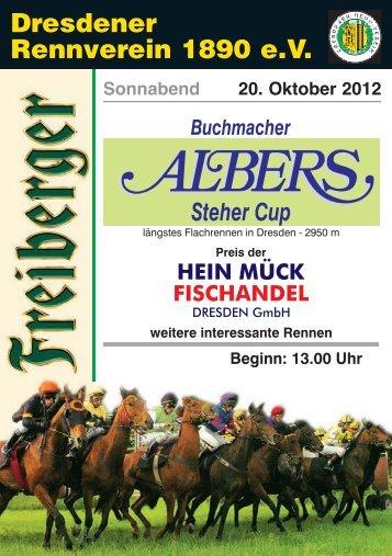 Mittwoch, 21.11.2012 HALALI Letzter Renntag 2012 in Dresden ...