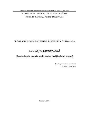 Ordin MECT 5208 - Programa scolara CDS Educatie Europeana.pdf