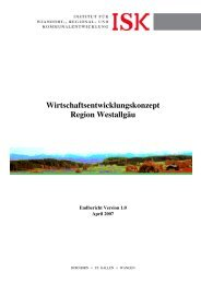 Konzept lang - Institut für Standort-, Regional- und ...