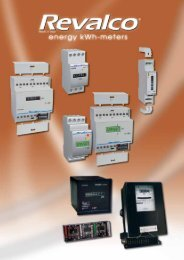 THREE-PHASE ACTIVE ENERGY kWh-METERS