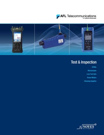 Test & Inspection Equipment