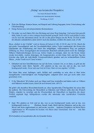 Dialog aus koranischer Perspektive - Islamisches Kulturzentrum ...