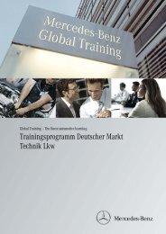 Trainingsprogramm Deutscher Markt Technik Lkw - Daimler