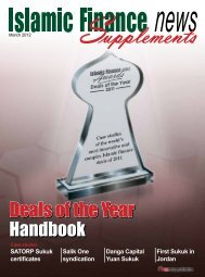 Deals of the Year Handbook - Islamic Finance News