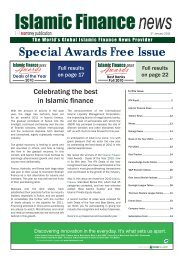 Special Awards Free Issue - Islamic Finance News