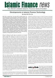 Sample - Islamic Finance News