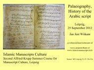al - Islamic manuscripts