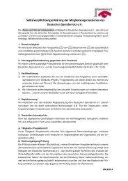 Selbstverpflichtungserklärung der ... - Islamic Relief e.V.