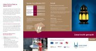 können Sie die aktuelle Zakat-Broschüre ... - Islamic Relief e.V.