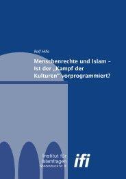 Menschenrechte und Islam - Institut für Islamfragen