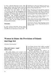 Women in Islam - Institut für Islamfragen