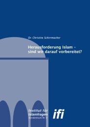 Herausforderung Islam - Institut für Islamfragen