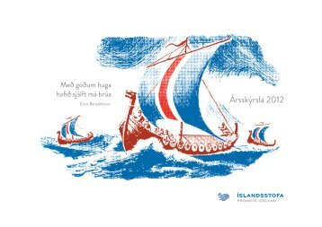 Ársskýrsla 2012 (pdf) - Íslandsstofa