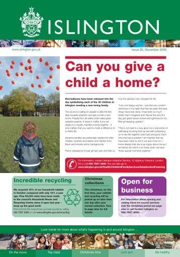 Download Islington - Issue 30 ( pdf - 1.5MB ) - Islington Council