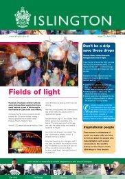 Fields of light - Islington Council