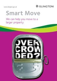 Smart Move Leaflet - Islington Council