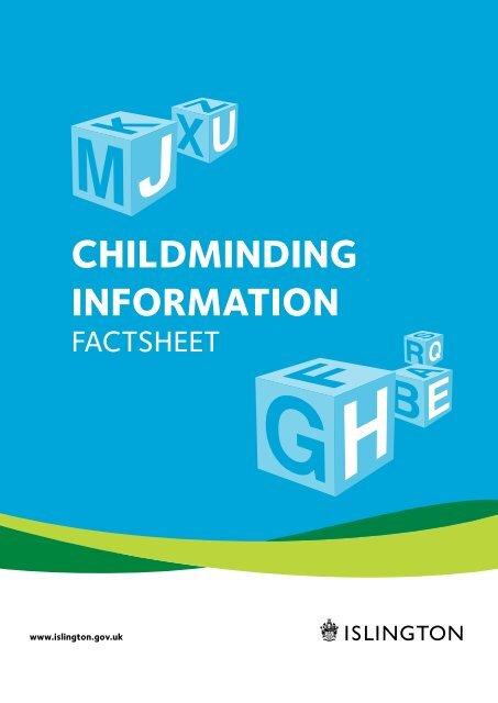 Childminding Information Islington Council