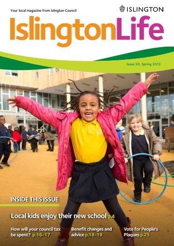 Spring 2012 - Islington Council