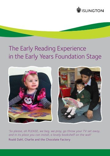 The Early Reading Experience in the Early Years Foundation Stage