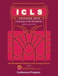 Conference Program - ISLS International Society of the Learning ...