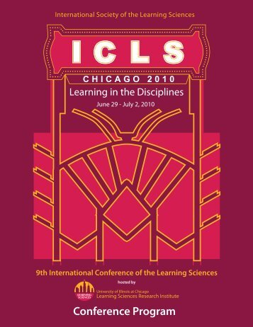 Conference Program - ISLS International Society of the Learning ...