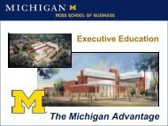 Introduction to Value-Based Management - ISM Southeast Michigan