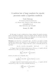 A uniform law of large numbers for ergodic processes under a ...