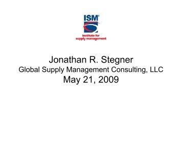 Supplier Relationship Management and Supplier Risk Management