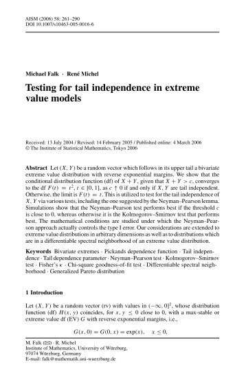 Testing for tail independence in extreme value models