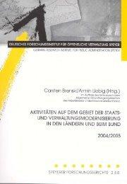 und Verwaltungsmodernisierung 2004 - 2005 - beim Ministerium ...