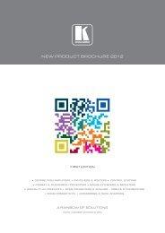 NEW PRODUCT BROCHURE 2012 - Monitorhalterung.de
