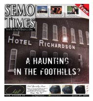 JUly 29, 2011 VOl. 3 ISSUE 35 - SEMO TIMES