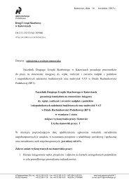 Stanowisko księgowego ds. wpłat, rozliczeń i zwrotów nadpłat z ...