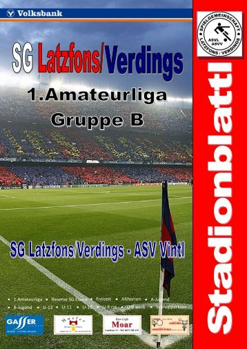 Stadionblattl 14.Spieltag