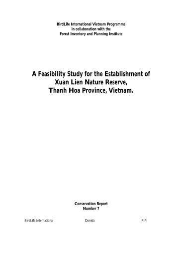 a feasibility study on establishment of