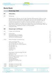 Devis-Texte - HBT-ISOL AG