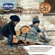 Dal 15 settembre al 31 ottobre 2012 - Chicco