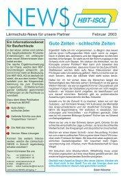Ausgabe Februar 2003-C-hp.cdr - HBT-ISOL AG